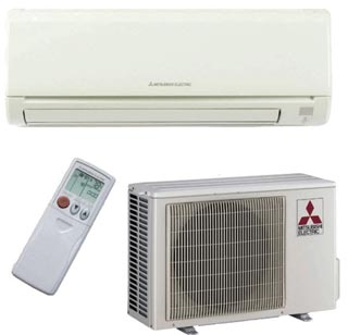 mitsubishi ductless air conditioners mn. Black Bedroom Furniture Sets. Home Design Ideas